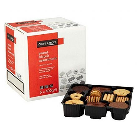 Chef's Larder Sweet Biscuit Assortment 5 x 400g (2kg Pack)